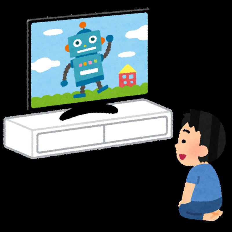 テレビを見る時間